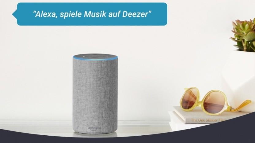 Kostenlose Deezer-Version auf Alexa-Lautsprechern nutzbar