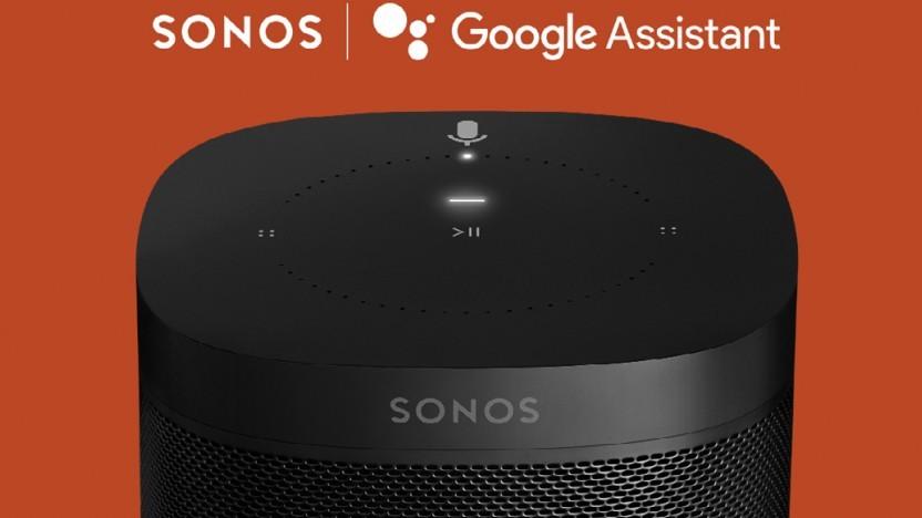 Sonos-Lautsprecher erhalten Google Assistant zunächst nur in den USA.