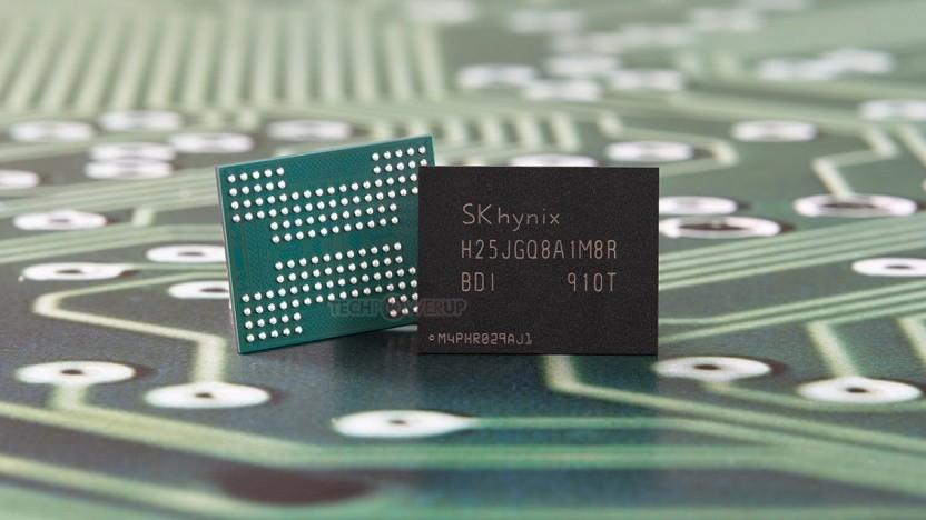Speicherbaustein mit 1-TBit-QLC-NAND-Flash