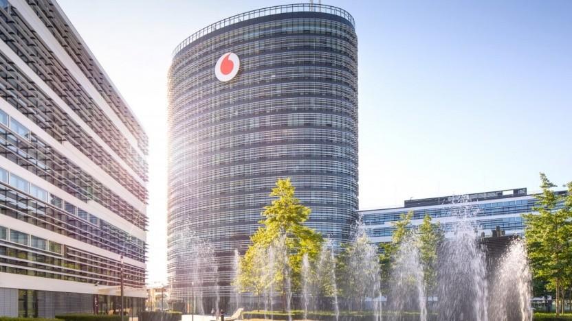 Sitz von Vodafone Deutschland in Düsseldorf