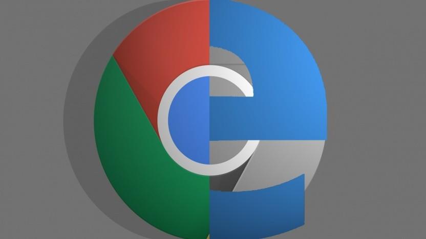 Chrome und Edge werden ähnlicher.