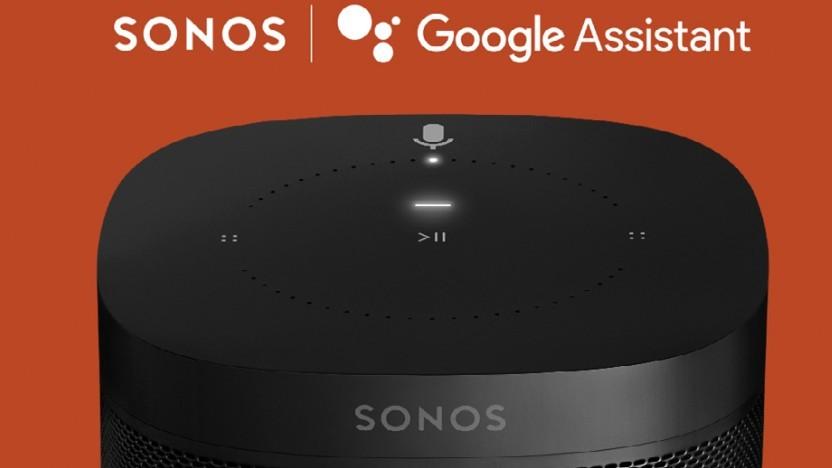 Google Assistant kommt auf Sonos-Lautsprecher.