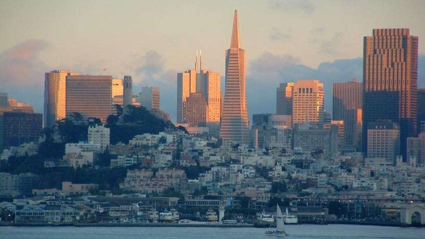 Skyline von San Francisco - hier soll es keine Gesichtserkennung durch Behörden der Stadt geben.