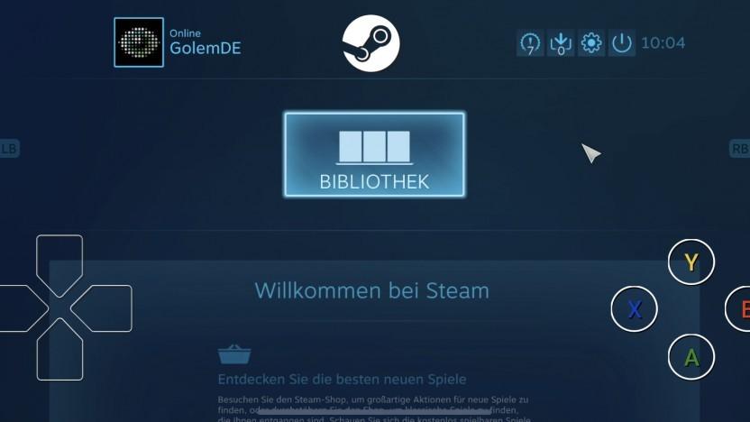 Bei Steam Link unter iOS fehlt der Store.