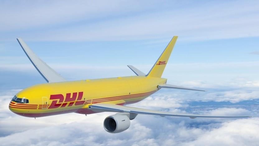 Amazon nutzt Luftfrachtkapazitäten der DHL-Gruppe. (Symbolbild)