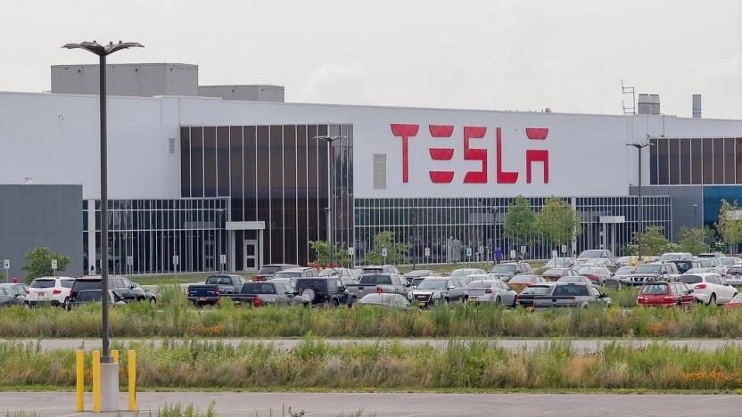 Teslas Gigafactory 2 in Buffalo