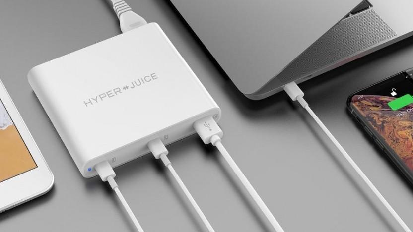 Zwei USB-PD-Buchsen mit mehr als 40 Watt je Port sind möglich.