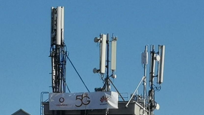 5G-Netz von Huawei und Vodafone