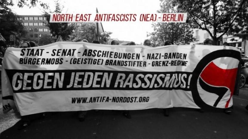 Die Webseite einer Berliner Antifa-Gruppe findet ein von der New York Times zitierter Experte verdächtig. Dabei geht es offenbar lediglich um gewöhnliches Shared Hosting.