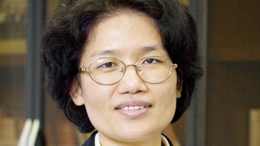 Teresa He Tingbo, President der Chipsparte Hisilicon von Huawei