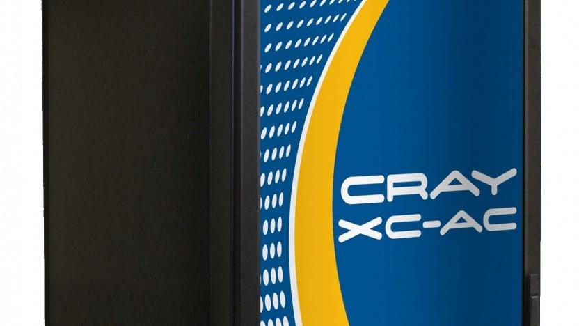 Supercomputer von Cray
