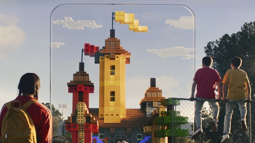 Artwork von Minecraft Earth