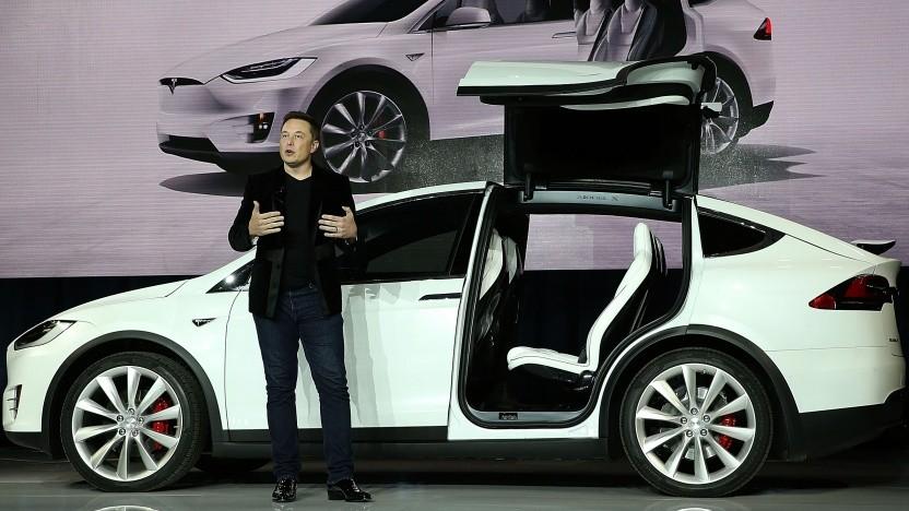 Elon Musk und Teslas Model X