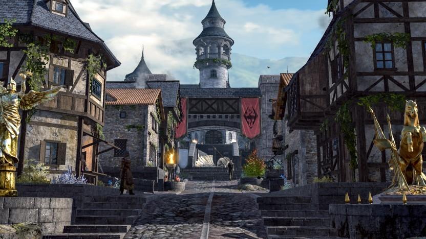 Die Town Hall in TES Blades