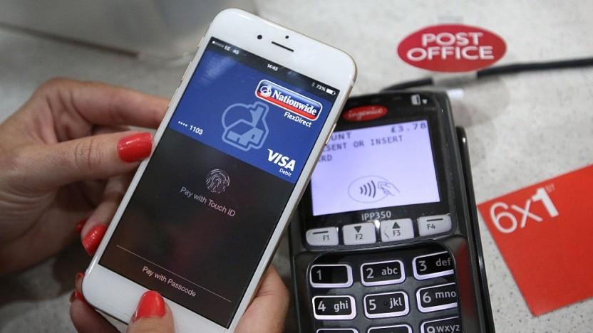 Apple Pay mit einem weit verbreiteten EMV-Zahlungsterminal des Herstellers Ingenico.