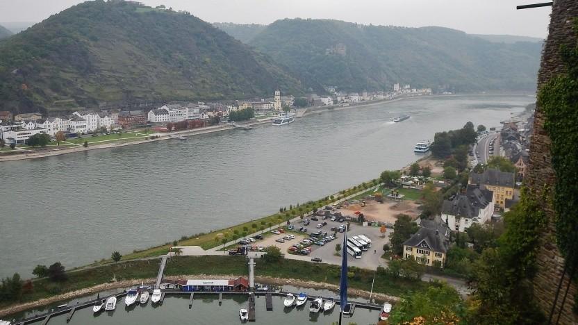 Demnächst wird aus dem Rhein bei St. Goar Strom gewonnen.