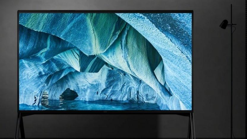 Sonys neue ZG9-Serie braucht viel Energie für die 8K-Darstellung auf großer Fläche.