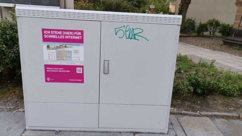 Netzausbau der Telekom: MFG in Dresden
