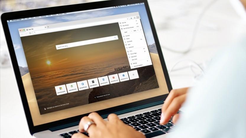 Edge auf MacOS