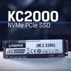 KC2000: Kingston-SSD schafft 3,2 GByte/s zu gutem Preis