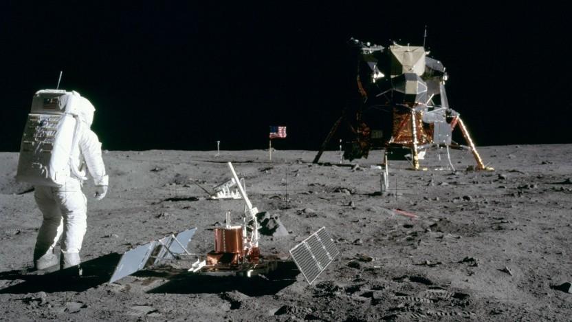Mondlandefähre von Apollo 11: Wird die Landefähre rechtzeitig fertig?