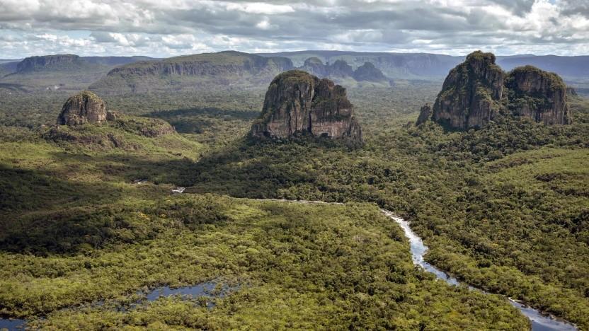 Serrania de Chiribiquete im kolumbianischen Teil des Amazonas-Regenwaldes