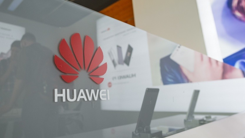 In einem Huawei-Laden in Shenzhen