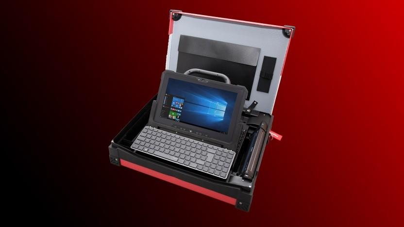 Dells Kofferlösung für Service-Techniker