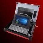 Technikkoffer für den Außendienst: Dell bietet ein Koffernotebook mit Drucker an