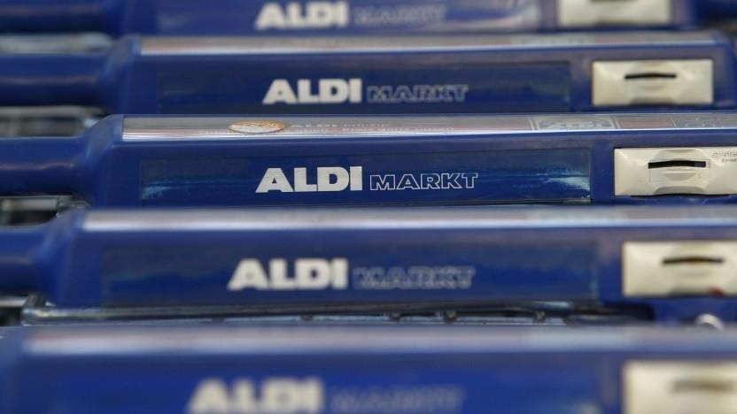 E-Plus verkauft Prepaid-Karten in Aldi-Märkten.