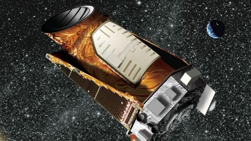 Weltraumteleskop Kepler (Symbolbild): Test an 517 Sternen mit Planeten