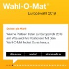 Europawahlen: Bundeszentrale will Wahl-O-Mat nachbessern