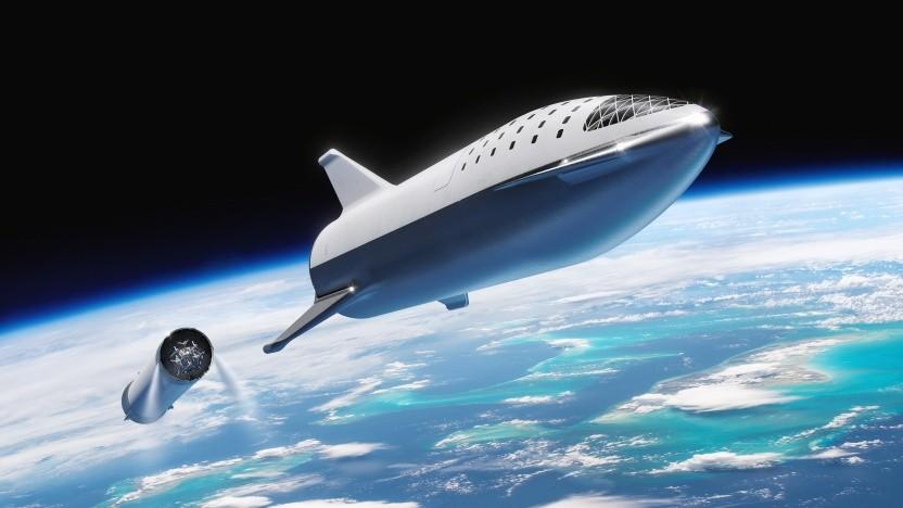 SpaceX will Fördergelder für die Entwicklung des Starship haben, findet den Wettbewerb darum aber unfair.