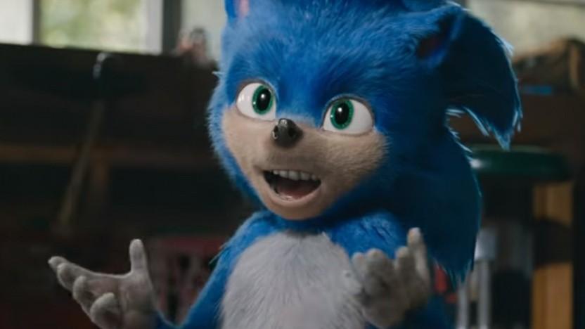 Sonic sieht im Spielfilm kaum wie das Vorbild aus.