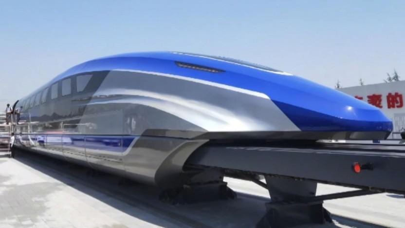 Magnetschwebezug von CRRC Qingdao Sifang: Serienfertigung ab 2021