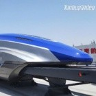 Zug: Schneller Magnetschwebezug in China vorgestellt