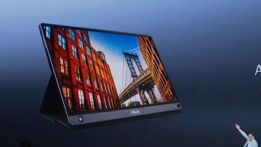Der Zenscreen Touch unterstützt Android-Geräte.