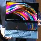 Asus Zenbook Pro Duo: Die obere Hälfte der Tastatur ist ein zweiter Bildschirm