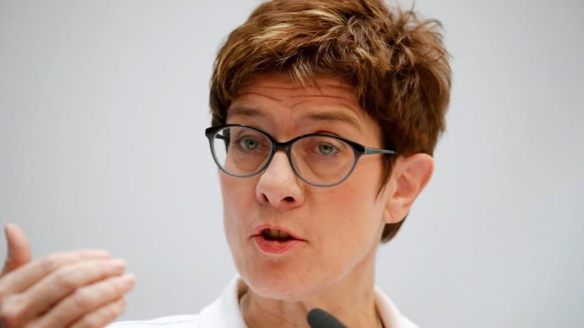 Die CDU-Vorsitzende Annegret Kramp-Karrenbauer