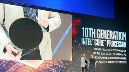 Intels Greg Bryant zeigt Ice Lake U.
