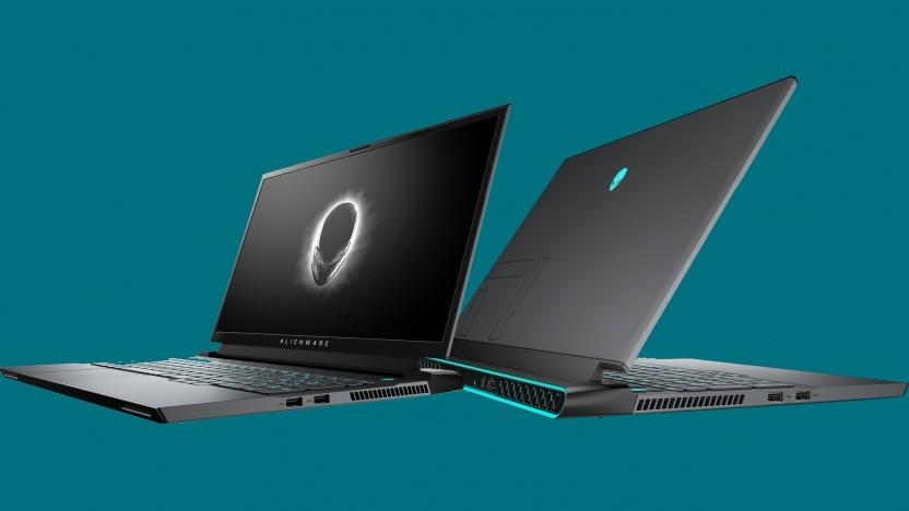Die Alienware m15 und m17 sehen anders aus.
