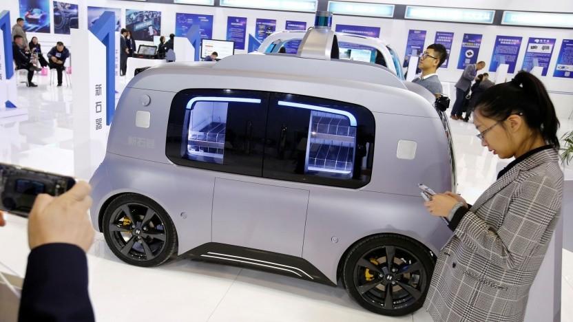 Autonomes Lieferfahrzeug von Neolix: 1.000 Fahrzeuge bis Ende des Jahres
