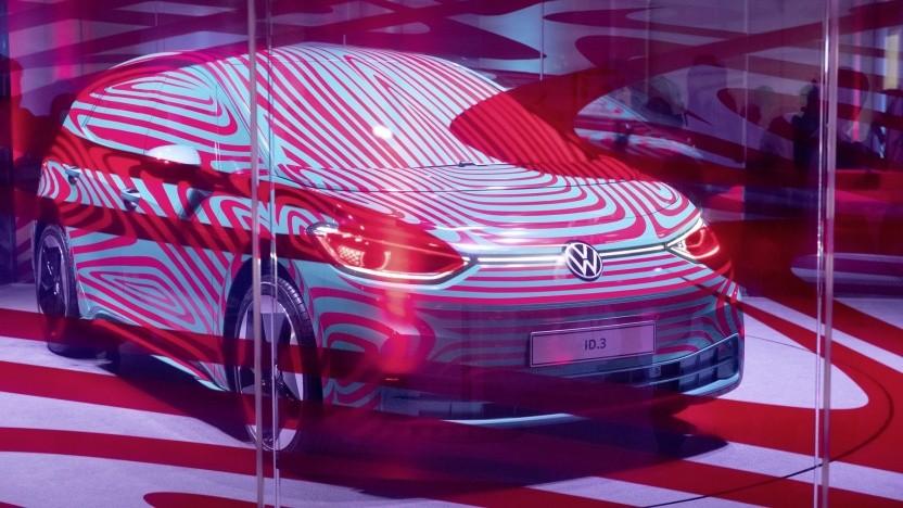 Die Massenproduktion des VW ID hängt vor allem von den Batterielieferanten ab.