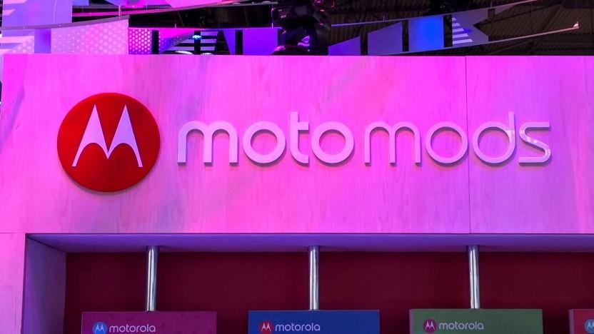 Das neue Smartphone soll Moto Mods unterstützen.