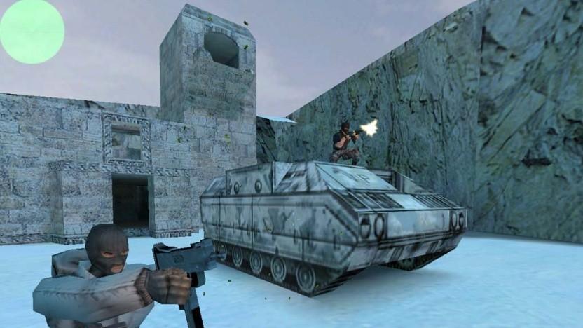 Screenshot aus dem Ur-Counter-Strike