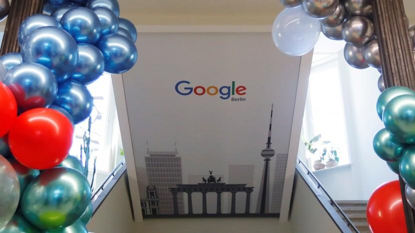 Googles Standort in Berlin soll weiter ausgebaut werden.