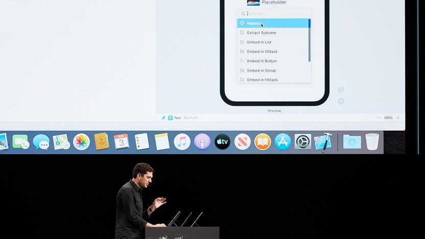 Apple zeigt auf der WWDC 19 die Gestaltung von Apps mit SwiftUI.