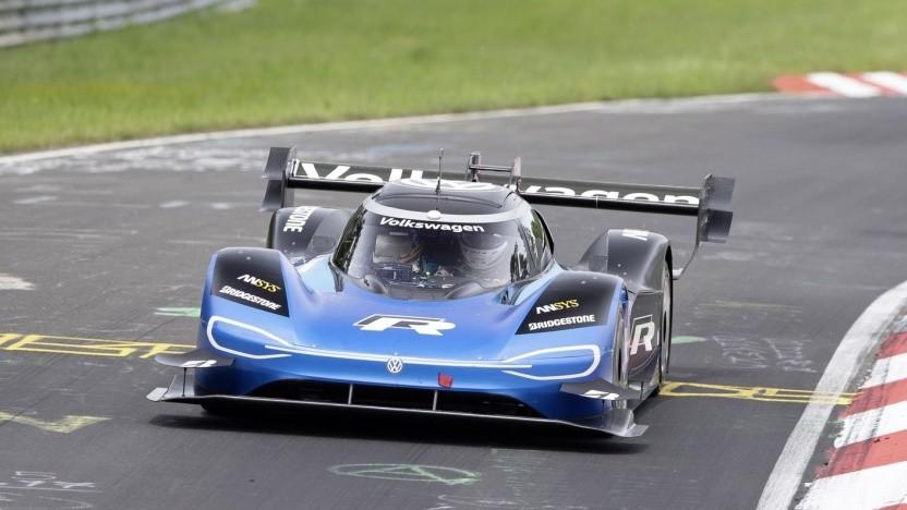 VW ID.R auf dem Nürburgring: Aerodynamik, Fahrwerk und Energiemanagement modifiziert