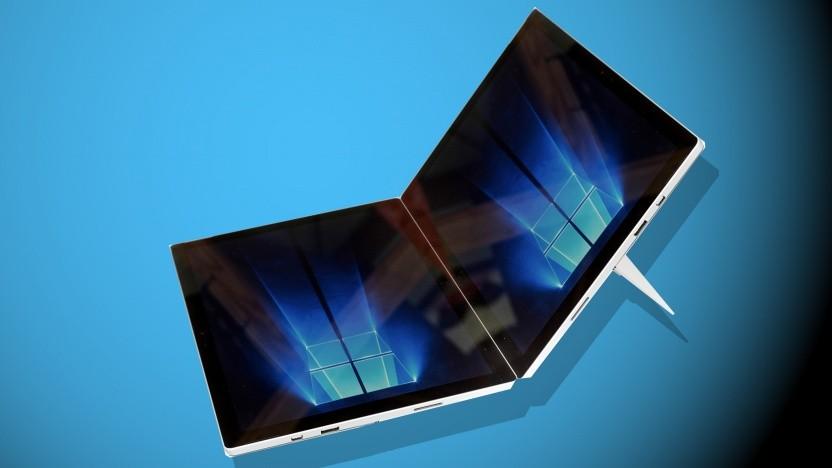 Ein Surface Pro mit zwei Bildschirmen könnte kommen. (Symbolbild)