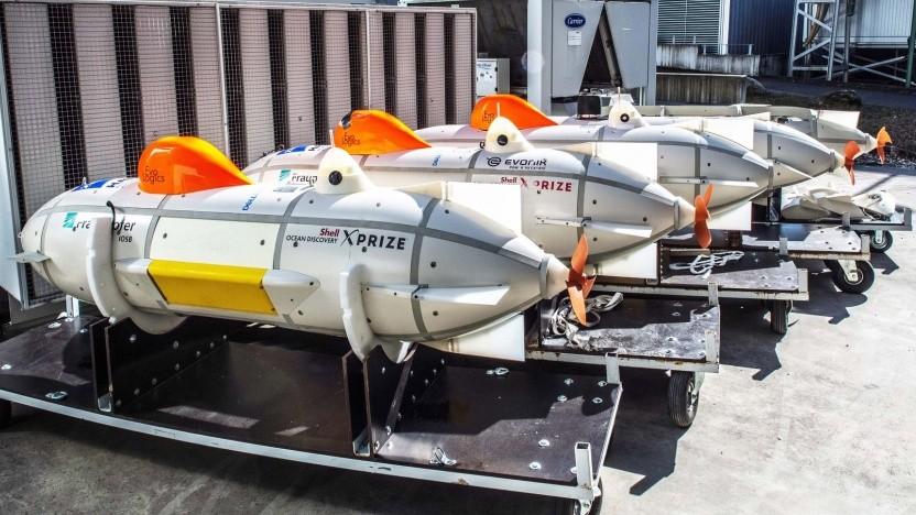 Unbemannte Tauchboote der Arggonauts